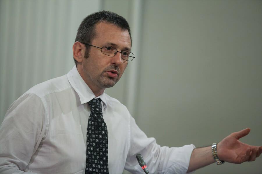 Andrea Delmastro, deputato di Fratelli d'Italia e capogruppo FDi in commissione Esteri